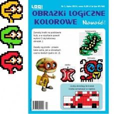 Obrazki logiczne kolorowe 2014.07 nr 1