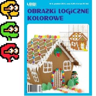 Obrazki logiczne kolorowe<br>2014.12<br>nr 6