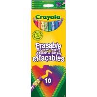 Crayola pencils with erasers