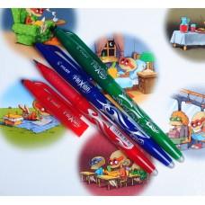 Długopis ścieralny 0.7 mm komplet 3 kolorów
