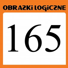Obrazki logiczne 2018.01<br>nr 165
