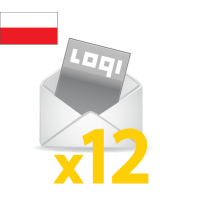 Logi-Mix annual subscription to Poland
