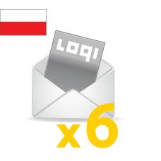 Logi-Mix<br>prenumerata półroczna<br>krajowa