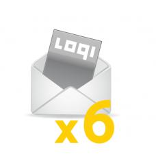 Logi-Mix<br>prenumerata półroczna<br>zagraniczna