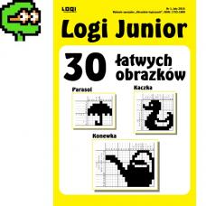 2016.02 Logi Junior nr 1 30 łatwych obrazków