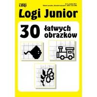 2017.12 Logi Junior nr 2 30 łatwych obrazków