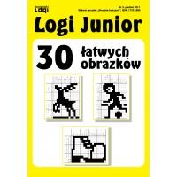 2017.12 Logi Junior nr 3 30 łatwych obrazków
