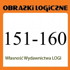 Wielopak Obrazki logiczne x 10 nr 151, 152, 153, 154, 155, 156, 157, 158, 159, 160 rabat 10%
