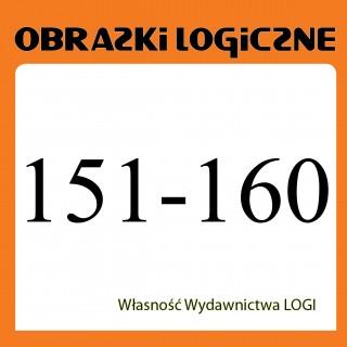 Wielopak Obrazki logiczne x 10<br>nr 151, 152, 153, 154, 155, 156, 157, 158, 159, 160<br>rabat 10%