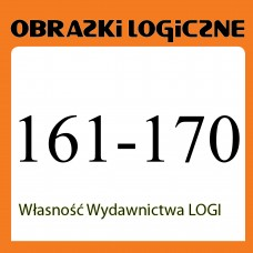 Wielopak Obrazki logiczne x 10 nr 161, 162, 163, 164, 165, 166, 167, 168, 169, 170 rabat 10%
