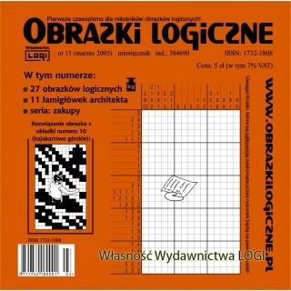 Obrazki logiczne 2005.03<br>nr 11