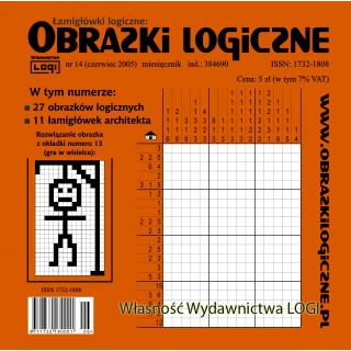 Obrazki logiczne 2005.06<br>nr 14