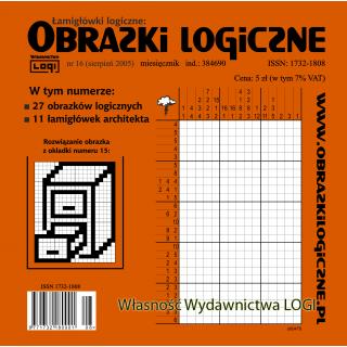 Obrazki logiczne 2005.08<br>nr 16
