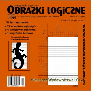 Obrazki logiczne 2005.09<br>nr 17