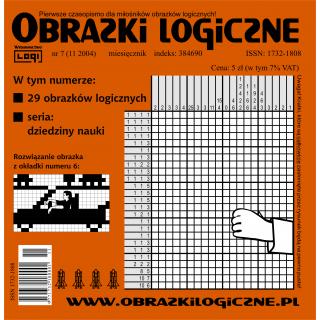 Obrazki logiczne 2004.11<br>nr 7