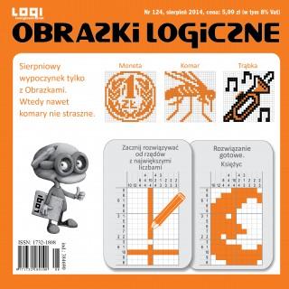 Obrazki logiczne 2014.08<br>nr 124