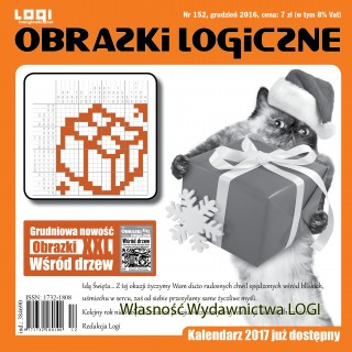 Obrazki logiczne 2016.12<br>nr 152