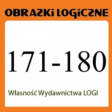 Wielopak Obrazki logiczne x 10 nr 171, 172, 173, 174, 175, 176, 177, 178, 179, 180 rabat 10%