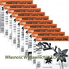 Wielopak Obrazki logiczne x 10 nr 36, 37, 38, 39, 40, 42, 43, 44, 45, 48 rabat 10%