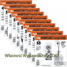 Wielopak Obrazki logiczne x 10 nr 49, 50, 51, 52, 53, 54, 55, 56, 57, 58 rabat 10%