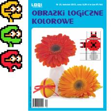 Obrazki logiczne kolorowe<br>2015.04<br>nr 10