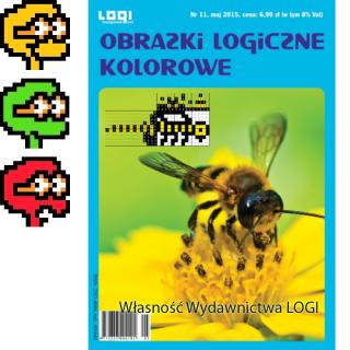 Obrazki logiczne kolorowe<br>2015.05<br>nr 11