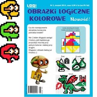 Obrazki logiczne kolorowe<br>2014.08<br>nr 2