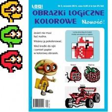 Obrazki logiczne kolorowe<br>2014.09<br>nr 3