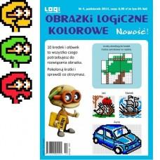 Obrazki logiczne kolorowe<br>2014.10<br>nr 4
