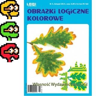 Obrazki logiczne kolorowe<br>2014.11<br>nr 5