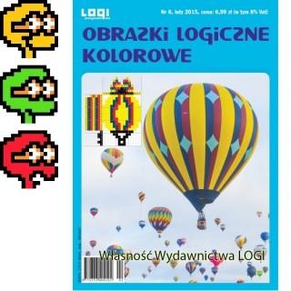 Obrazki logiczne kolorowe<br>2015.02<br>nr 8