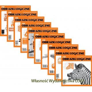 Obrazki logiczne x 10<br>nr 131, 132, 133, 134, 135, 136, 137, 138, 139, 140<br>rabat 20%