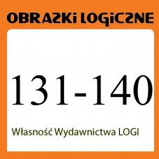 Obrazki logiczne x 10 nr 131, 132, 133, 134, 135, 136, 137, 138, 139, 140 rabat 20%