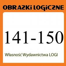 Obrazki logiczne x 10 nr 141, 142, 143, 144, 145, 146, 147, 148, 149, 150 rabat 20%