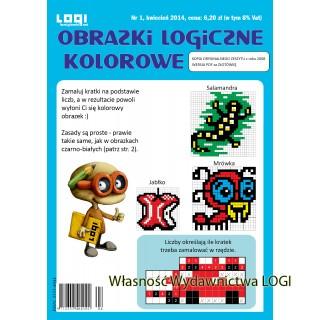 | PDF Obrazki logiczne kolorowe nr 1