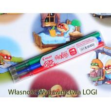 0.5 mm wkłady komplet 3 kolorów pasują do obudowy cienkopisu i długopisu