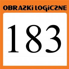 Obrazki logiczne 2019.07<br>nr 183