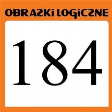 Obrazki logiczne 2019.08<br>nr 184