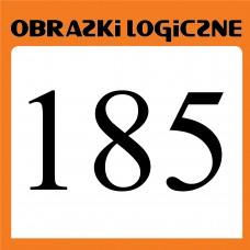 Obrazki logiczne 2019.09<br>nr 185