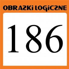 Obrazki logiczne 2019.10<br>nr 186