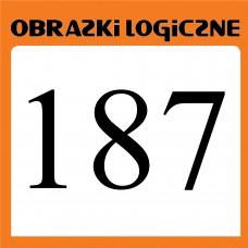 Obrazki logiczne 2019.11<br>nr 187