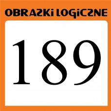 Obrazki logiczne 2020.01<br>nr 189