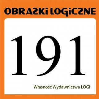 Obrazki logiczne 2020.03<br>nr 191
