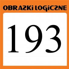 Obrazki logiczne 2020.05<br>nr 193