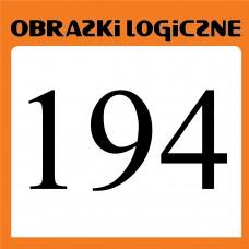 Obrazki logiczne 2020.06<br>nr 194