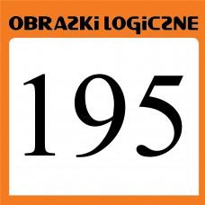 Obrazki logiczne 2020.07<br>nr 195