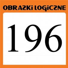Obrazki logiczne 2020.08<br>nr 196