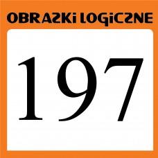 Obrazki logiczne 2020.09<br>nr 197