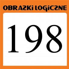 Obrazki logiczne 2020.10<br>nr 198