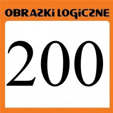 Obrazki logiczne 2020.12<br>nr 200